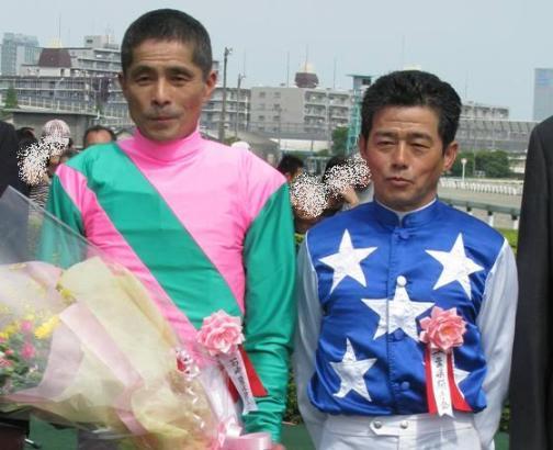 石崎騎手と桑島騎手