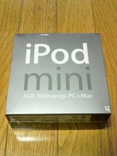 iPod・箱表