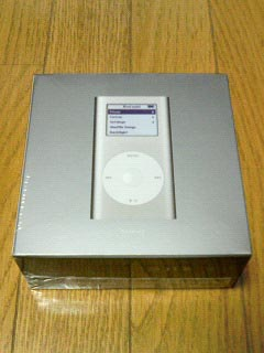 iPod・箱裏