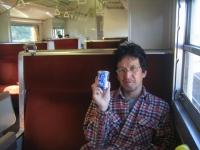 列車でお酒のお気軽旅行