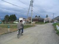 桜咲く別所をサイクリング