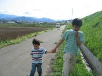 姉と子供が遊びに来る 信州を満喫