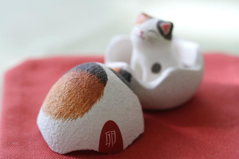 卵猫3。卵シール