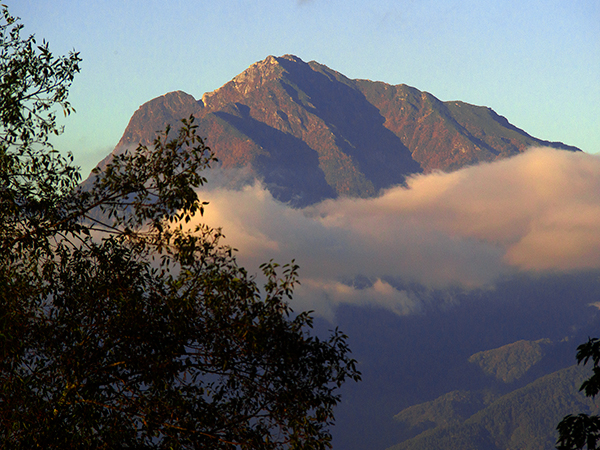 甲斐駒 南アルプス(八ヶ岳南麓から)