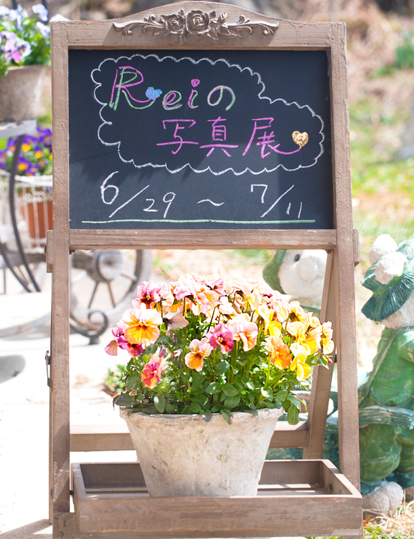Reiの写真展 2016 6/29-7/11 清泉寮・KEEP協会敷地内 山梨県立自然ふれあいセンター