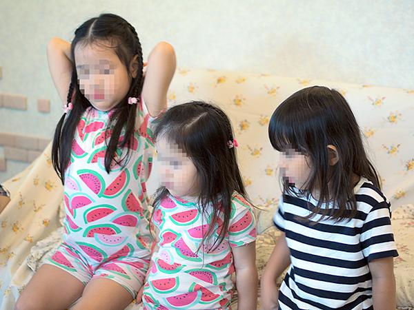 Eさんの姉妹とまひるちゃん