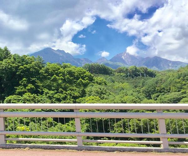 八ヶ岳高原道路からの八ヶ岳