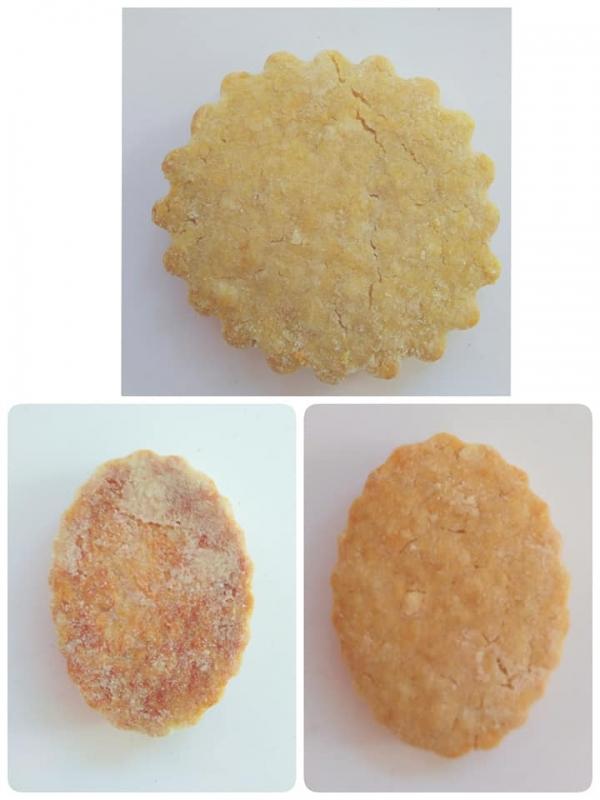 いろいろなクッキーの型