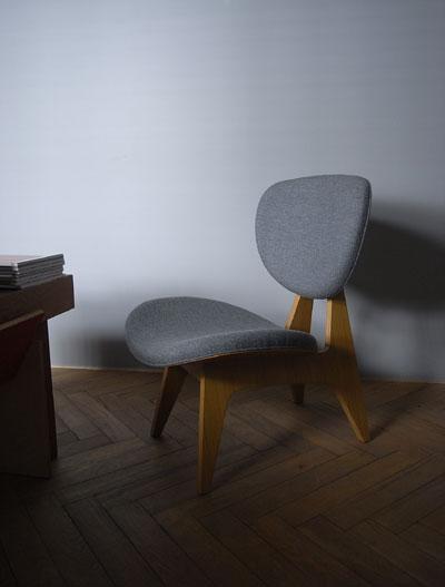長大作 中座椅子