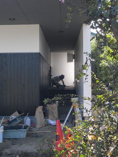 炭モルタル 岡山の設計事務所