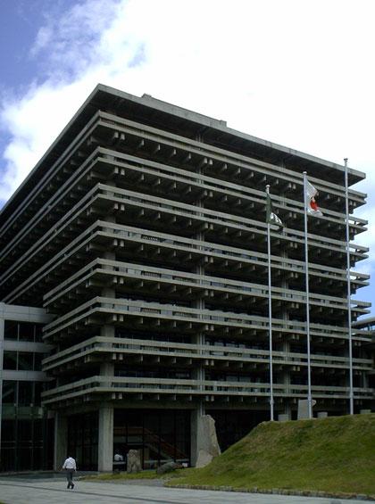 香川県庁舎 岡山の設計事務所