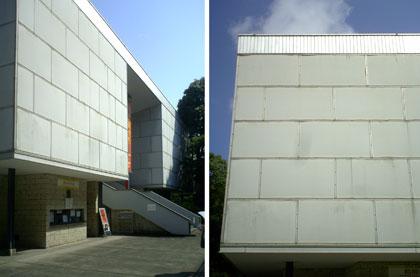 戦後間もない占領下という状態の中で建てられた、日本で最初の近代美術館