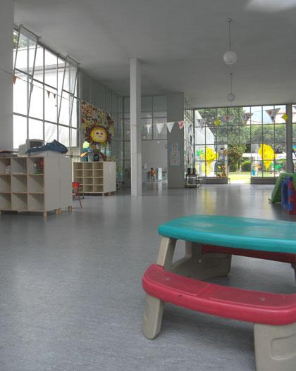 幼稚園の建築