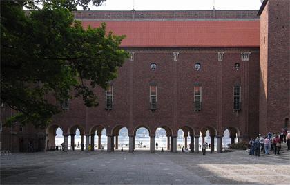岡山 ストックホルム 市庁舎