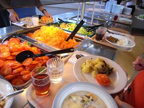 ユヴァスキュラ教育大学食堂