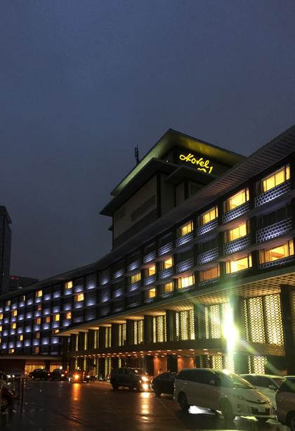 ホテルオークラ 建替え 最後の日 岡山の設計事務所