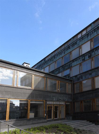 岡山 建築 アアルト 文化の家 北欧 倉敷の設計事務所