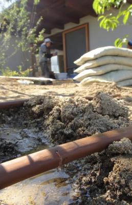 倉敷 建築設計事務所 岡山 お庭 雨水浸透