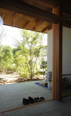 倉敷 建築設計事務所 岡山 広いテラス