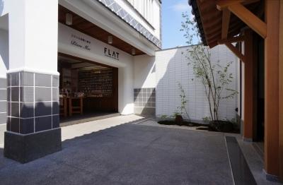 倉敷 建築設計事務所 岡山 中庭 FLAT  玩具館