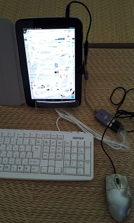 Nexus10にキーボード接続