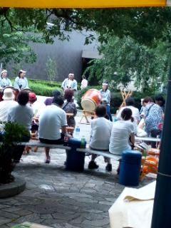 夜祭り太鼓