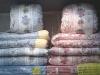 羽毛布団と綿布団