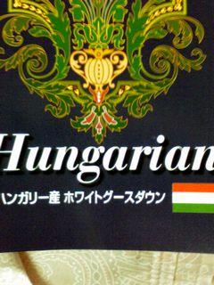 ハンガリー羽毛