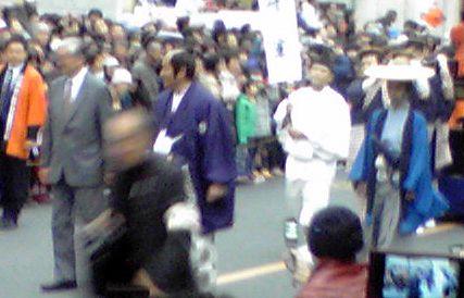 大名行列松平健さん