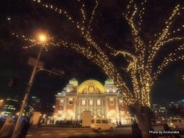 夜の公会堂