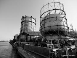 中山製鋼所タンク