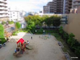 児童公園ジオラマ800