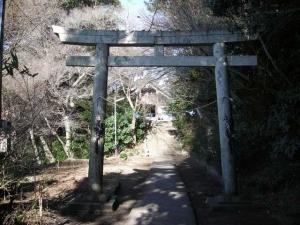 石巻神社鳥居
