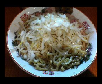 らーめん野菜玉ねぎ(300円 通常680円)