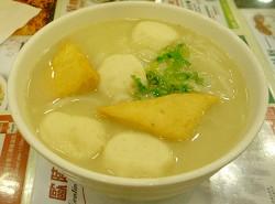 翠華餐廳魚丸粉條