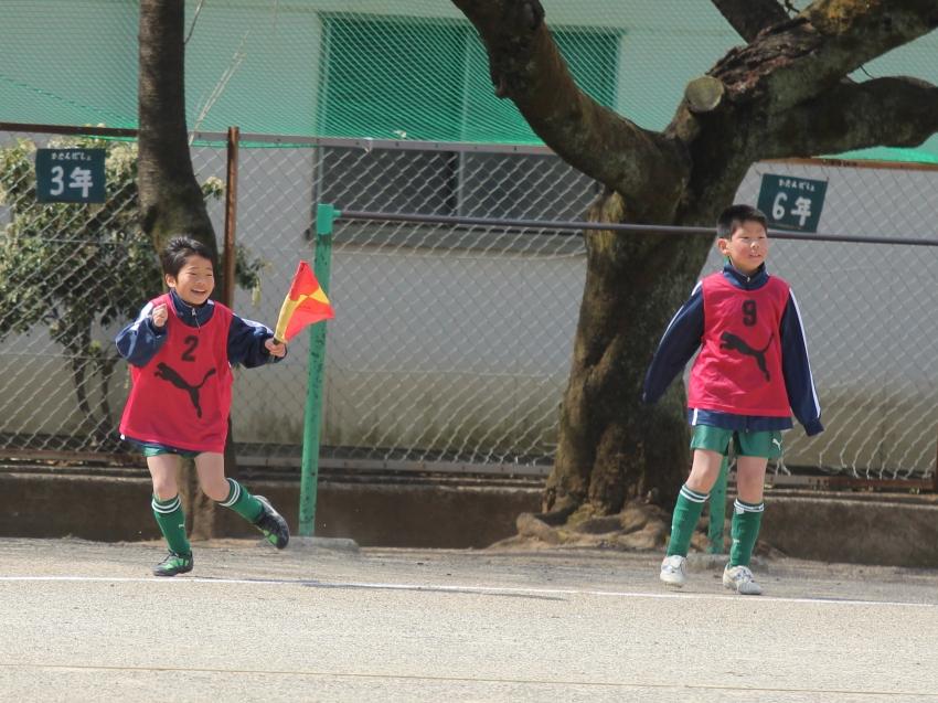 ゴールキーパーのmama そしてサッカー小僧のmama