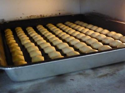 塩クッキー焼成