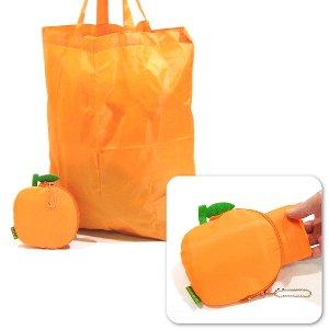 オレンジエコバッグ