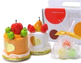 フルーツムースケーキタオル 送料無料でびっくりプライス♪