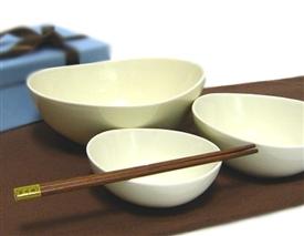三つ組鉢のギフトセット