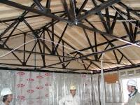天井の軽量鉄骨