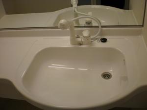 洗髪洗面台