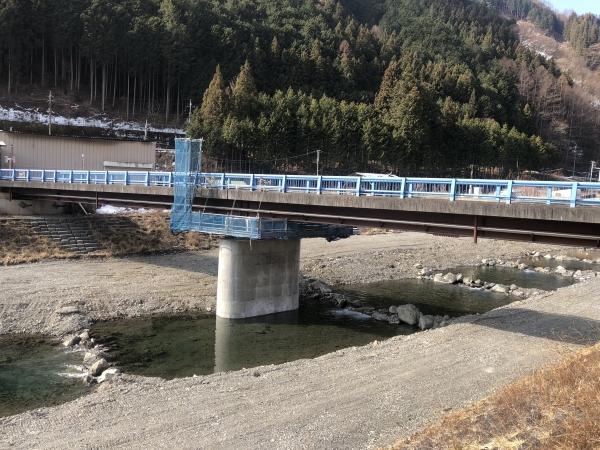 池之尻橋工事