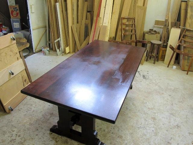民芸テーブル