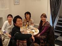 手前のお二人が松本ご夫妻です