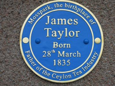 1835年3月28日・ジェームステーラーの誕生日 | 紅茶専門店 ...