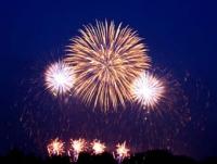 鶴岡赤川の花火