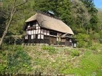 里山の伝統的家屋