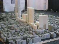 新橋付近の都市模型