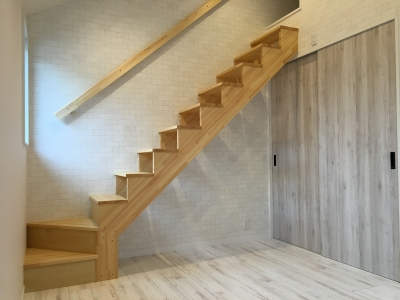 ロフト階段01